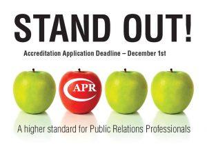 APR Accreditation in Public Relations Professional designation for communicators